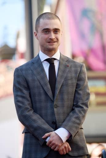 Daniel Radcliffe trägt für eine Rolle derzeit eine Glatze