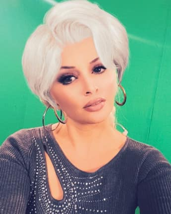 Daniela Katzenberger mit grauen Haaren