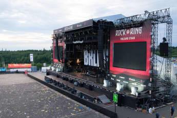 Das Rock am Ring Gelände nach der Terror-Warnung