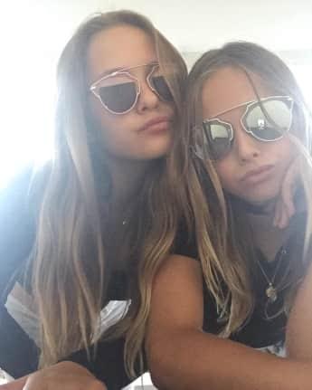 Davina und Shania Geiss zeigen sich auf Instagram