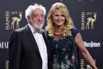 Didi Hallervorden und Christiane Zander, Bambi Preisverleihung, Bambis