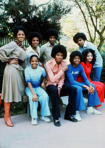Die Familie Jackson im Jahr 1978