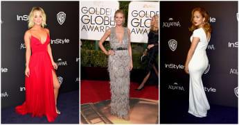 Die Looks der Golden Globes: Kaley Cuoco, Heidi Klum, Jennifer Lopez