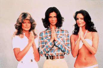 """""""Drei Engel für Charlie""""-Stars Jackson, Fawcett und Smith"""