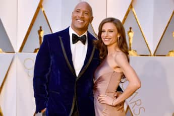 Dwayne Johnson und Lauren Hashian Paar Ehe glücklich The Rock