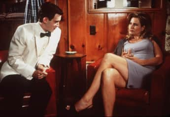 "Stiflers Mum Finch Eddie Kaye Thomas und Jennifer Coolidge in ""American Pie"""