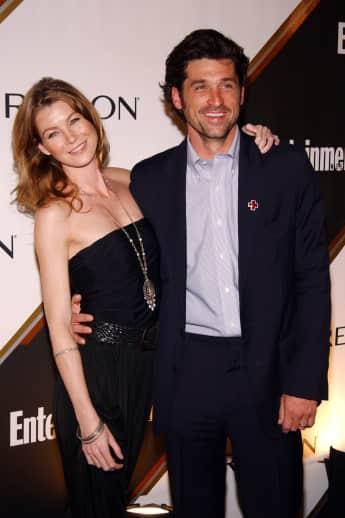 """Das Tarumpaar von """"Grey's Anatomy"""": Ellen Pompeo und Patrick Dempsey"""