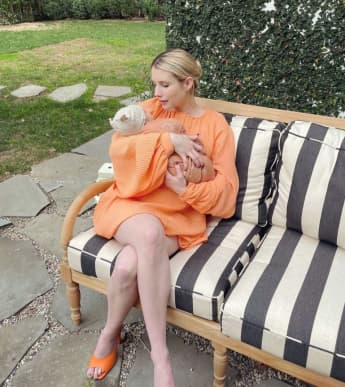 Emma Roberts Baby