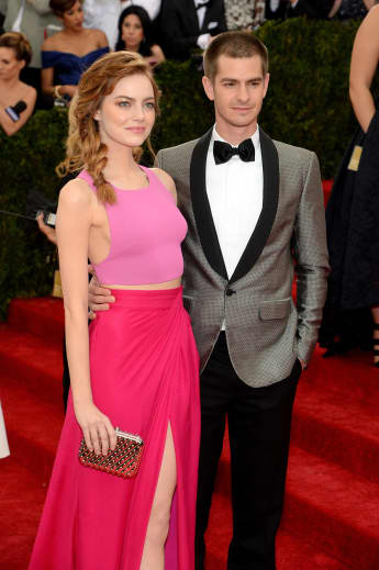 "Emma Stone und Andrew Garfield bei der ""Charles James: Beyond Fashion""-Gala"