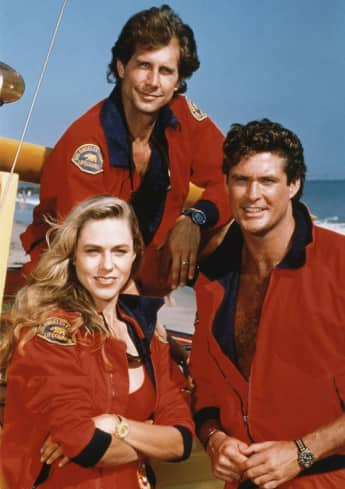 Baywatch: Erika Eleniak, Parker Stevenson, David Hasselhoff