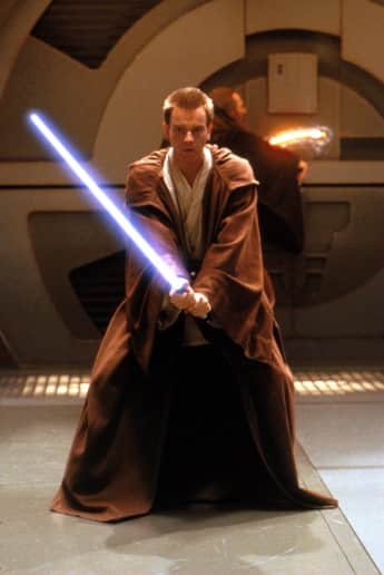 "Ewan McGregor in ""Star Wars"""