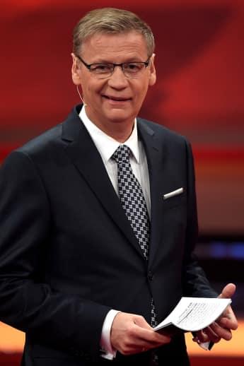 Moderator Günther Jauch geduzt