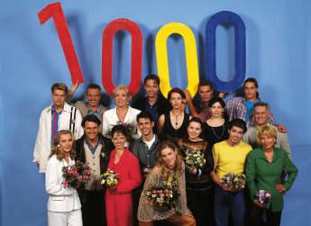 Der GZSZ-Cast der 1000. Folge