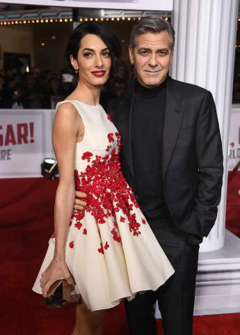 """George und Amal Clooney auf der Premiere von """"Hail, Caesar!"""""""