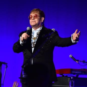 Elton John bei der jährlichen AIDS-Party
