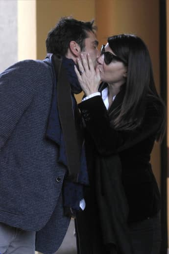 Gianluigi Buffon und seine Freundin Ilaria D'Amico