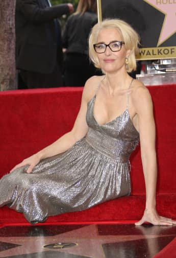 """Gillian Anderson, """"Walk of Fame"""" , Akte X"""