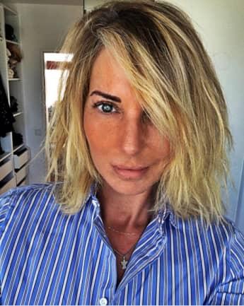 Giulia Siegel hat kurze Haare