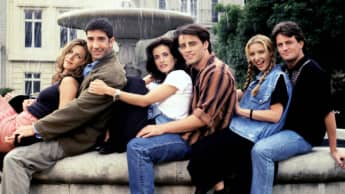 Besetzung der Serie 'Friends'