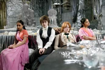 Harry Potter, Ron und die Patil Zwillinge