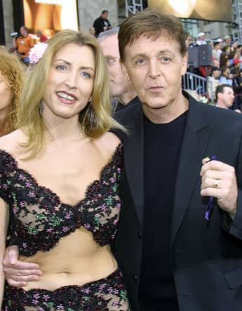 Heather Mills und Paul McCartney