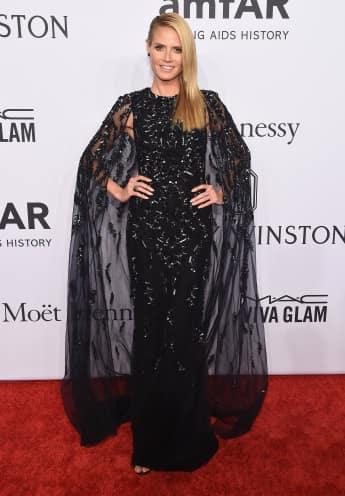Heidi Klum auf der amfAR-Gala 2016