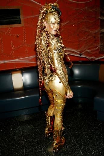 Heidi Klum 2003 an Halloween