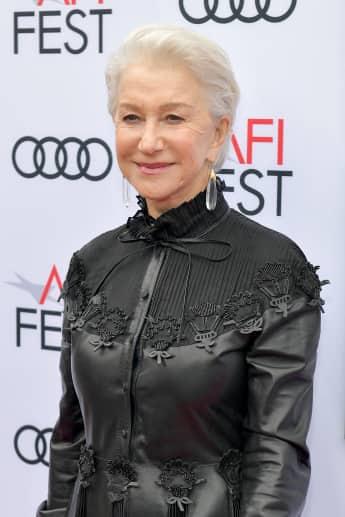 Helen Mirren bei einer Filmpremiere im November 2017