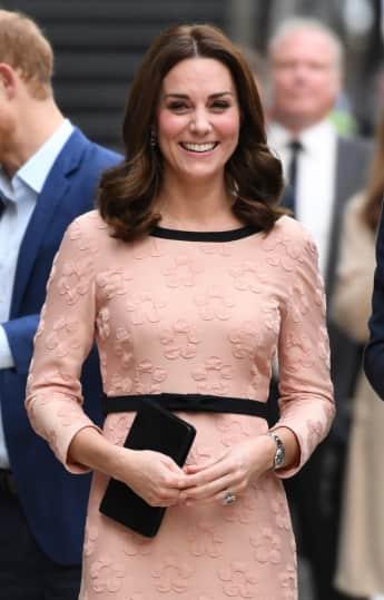 Herzogin Catherine bei einer Wohltätigkeitsveranstaltung in London , Kade Middleton, Schwanger, Paddington
