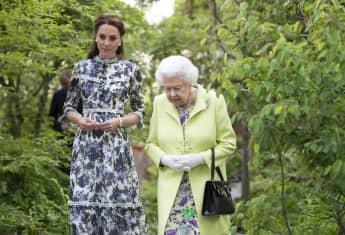 Herzogin Kate mit Queen