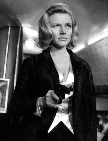 "Honor Blackman in ""Goldfinger"", James Bond"