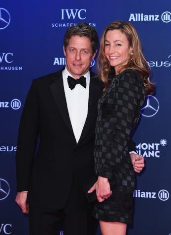 Hugh Grant Freundin Anna Eberstein
