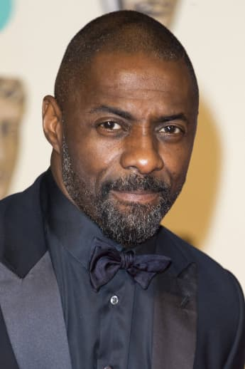 Idris Elba at the EE British Academy Film Awards.