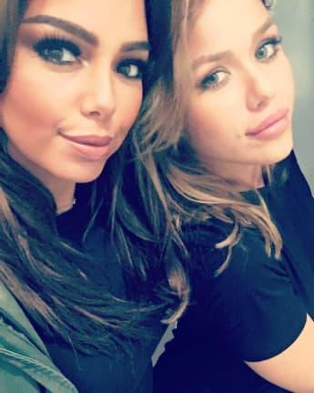 Ines Redjeb und Kim Gloss Horror Unfall immer noch Freundinnen