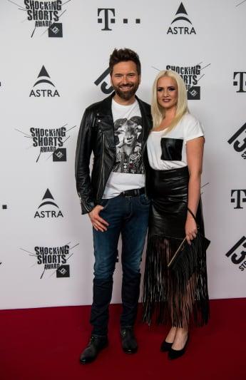 Ingo Nommsen und Sarah Knappik besuchten gemeinsam die Shocking Shorts in München