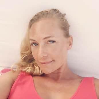 Iris Aschenbrenner arbeitet als Schauspielerin und Model