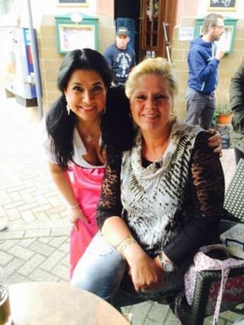 Zwei Mamas unter sich: Iris Klein und Silvia Wollny