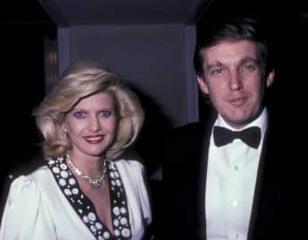 Ivana und Donald Trump bei einer Veranstaltung 1985