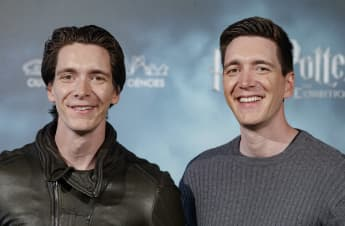 James Phelps & Oliver Phelps 2019 in Madrid