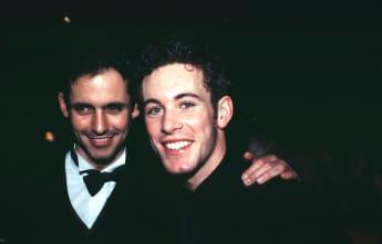 Jan Hartmann und Ralf Benson vor 15 Jahren