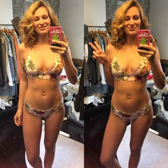 Janni Hönscheid Bikini After-Baby-Body