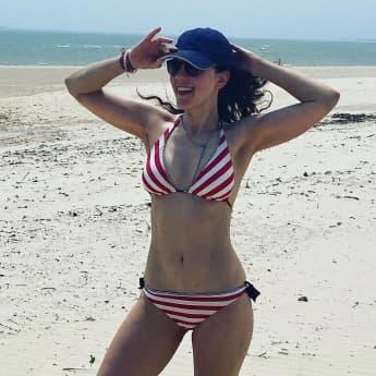 Jasmin Wagner Blümchen Bikini