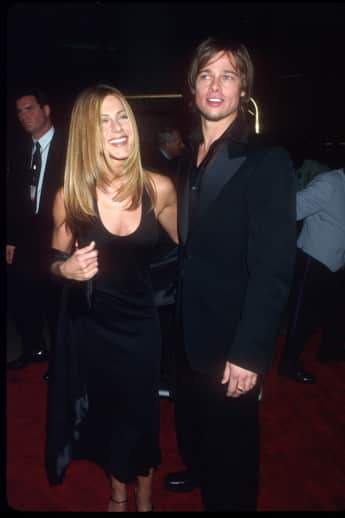 Jennifer Aniston und Brad Pitt waren zusammen