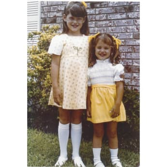 Jennifer Garner und ihre große Schwester Susannah