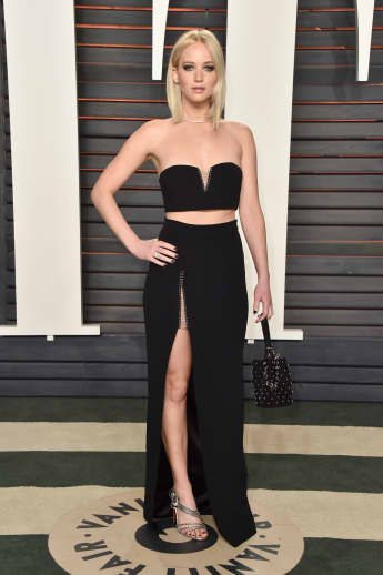 Jennifer Lawrence auf der Vanity Fair Oscar Party