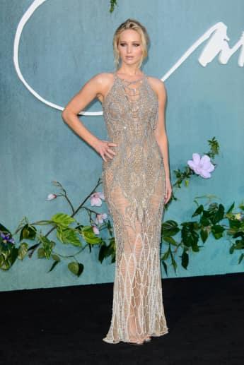 Jennifer Lawrence Premiere London sexy