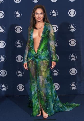 Jennifer Lopez bei den Grammys 2000