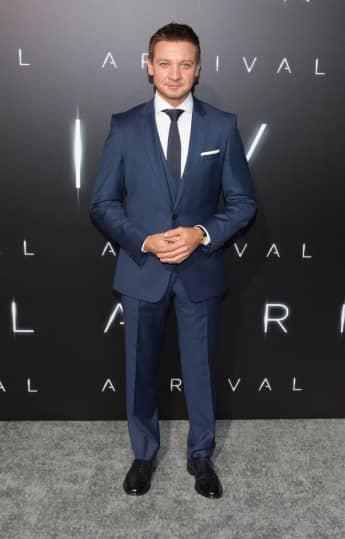 """Jeremy Renner bei der Premiere seines aktuellen Films """"Arrival"""""""