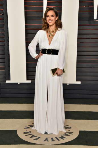 Jessica Alba auf der Oscar-Party