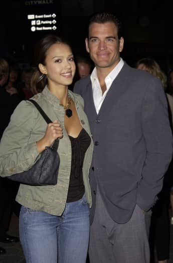 Jessica Alba Michael Weatherly Paar